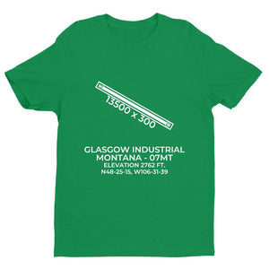 07mt glasgow mt t shirt, Green