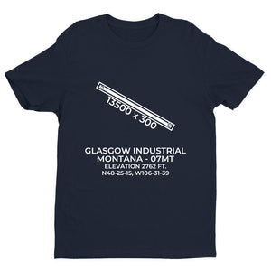07mt glasgow mt t shirt, Navy