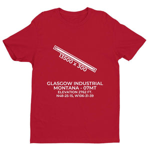07mt glasgow mt t shirt, Red