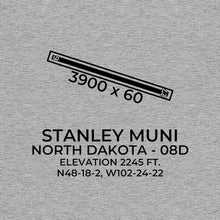 Load image into Gallery viewer, 08d stanley nd t shirt, Gray