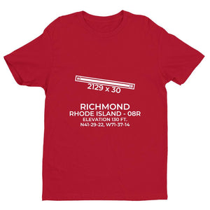 08r west kingston ri t shirt, Red
