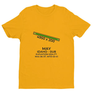 0u8 may id t shirt, Yellow