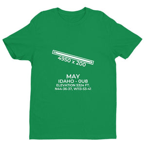 0u8 may id t shirt, Green