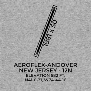 12n andover nj t shirt, Gray