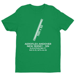 12n andover nj t shirt, Green
