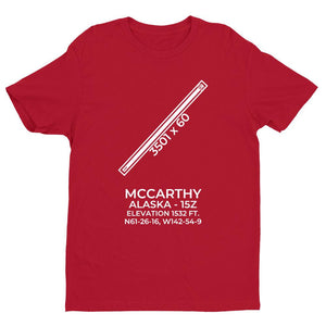 15z mccarthy ak t shirt, Red