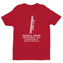 Load image into Gallery viewer, 1f4 madill ok t shirt, Red