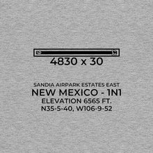 Load image into Gallery viewer, 1n1 edgewood nm t shirt, Gray