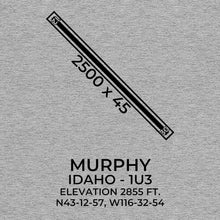 Load image into Gallery viewer, 1u3 murphy id t shirt, Gray