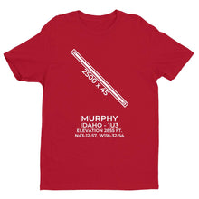 Load image into Gallery viewer, 1u3 murphy id t shirt, Red