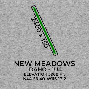 1u4 new meadows id t shirt, Gray
