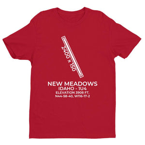 1u4 new meadows id t shirt, Red