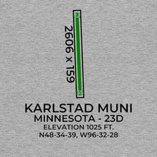 Load image into Gallery viewer, 23d karlstad mn t shirt, Gray