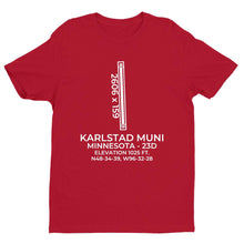 Load image into Gallery viewer, 23d karlstad mn t shirt, Red