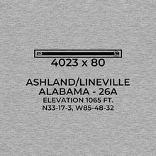 Load image into Gallery viewer, 26a ashland lineville al t shirt, Gray