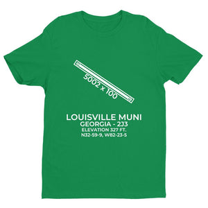 2j3 louisville ga t shirt, Green