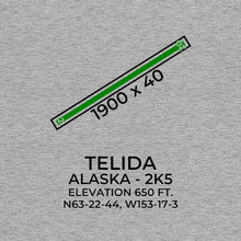 Load image into Gallery viewer, 2k5 telida ak t shirt, Gray