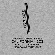 Load image into Gallery viewer, 2o3 angwin ca t shirt, Gray