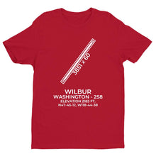 Load image into Gallery viewer, 2s8 wilbur wa t shirt, Red