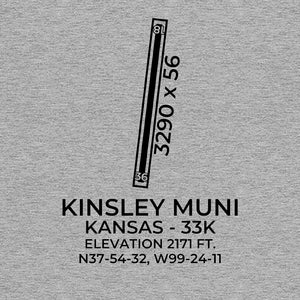 33K facility map in KINSLEY; KANSAS