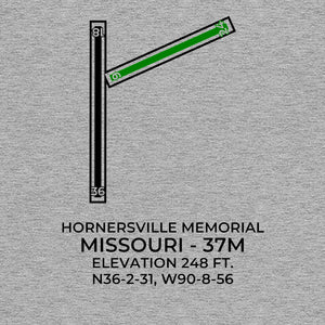 37M facility map in HORNERSVILLE; MISSOURI