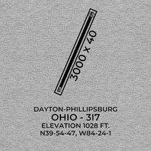 Load image into Gallery viewer, 3i7 dayton oh t shirt, Gray