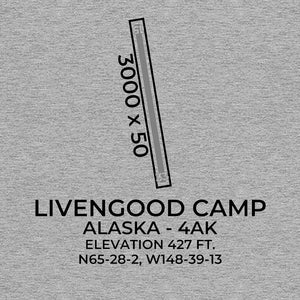 4AK facility map in LIVENGOOD; ALASKA