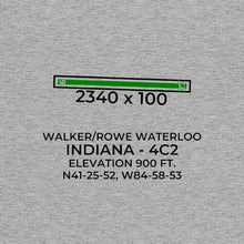 Load image into Gallery viewer, 4c2 waterloo in t shirt, Gray