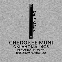 Load image into Gallery viewer, 4O5 facility map in CHEROKEE; OKLAHOMA