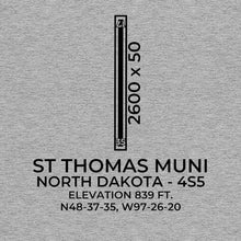 Load image into Gallery viewer, 4S5 facility map in ST THOMAS; NORTH DAKOTA