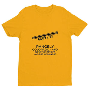 4v0 rangely co t shirt, Yellow