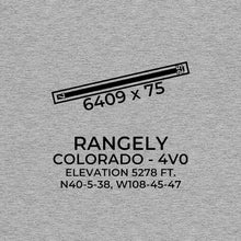 Load image into Gallery viewer, 4v0 rangely co t shirt, Gray