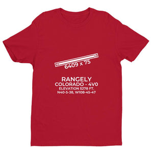 4v0 rangely co t shirt, Red