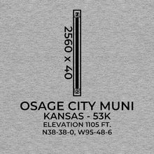 Load image into Gallery viewer, 53K facility map in OSAGE CITY; KANSAS