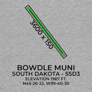 5sd3 bowdle sd t shirt, Gray