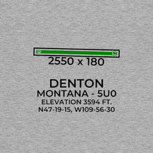 Load image into Gallery viewer, 5U0 facility map in DENTON; MONTANA