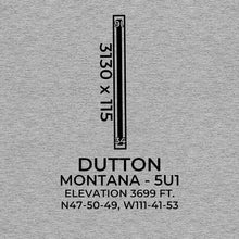 Load image into Gallery viewer, 5u1 dutton mt t shirt, Gray