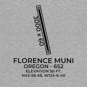 6s2 florence or t shirt, Gray