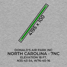 Load image into Gallery viewer, 7nc plymouth nc t shirt, Gray
