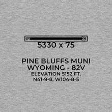 Load image into Gallery viewer, 82V facility map in PINE BLUFFS; WYOMING