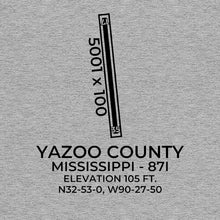 Load image into Gallery viewer, 87I facility map in YAZOO CITY; MISSISSIPPI