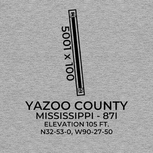 87I facility map in YAZOO CITY; MISSISSIPPI