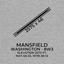 Load image into Gallery viewer, 8w3 mansfield wa t shirt, Gray