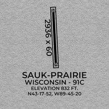 Load image into Gallery viewer, 91C facility map in PRAIRIE DU SAC; WISCONSIN