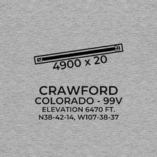Load image into Gallery viewer, 99V facility map in CRAWFORD; COLORADO