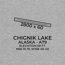 Load image into Gallery viewer, A79 facility map in CHIGNIK LAKE; ALASKA