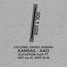 Load image into Gallery viewer, aao wichita ks t shirt, Gray