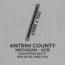 Load image into Gallery viewer, acb bellaire mi t shirt, Gray
