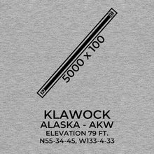 Load image into Gallery viewer, AKW facility map in KLAWOCK; ALASKA