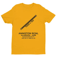 Load image into Gallery viewer, anb anniston al t shirt, Yellow